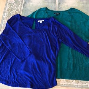 American Eagle 2 Sweater/shirt 3/4 arm